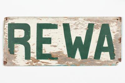 Nameboard: REWA