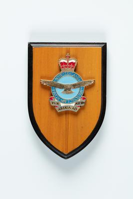 Shield plaque: Royal New Zealand Air Force