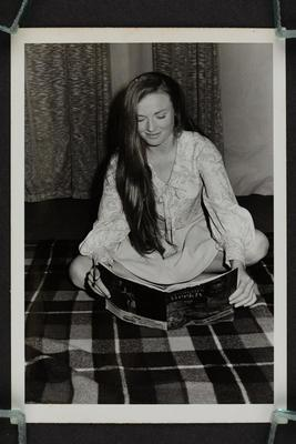 Photograph: Portrait of Phillippa [Pip] Were seated,1967
