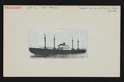 Index card: AAGTEKERK (1934)