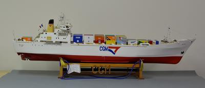 Model:  TSMV MONT ROYALE, Compagnie Generale Maritimes container ship