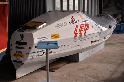 Vessel: KIWI CHALLENGE, trans-Atlantic rowboat