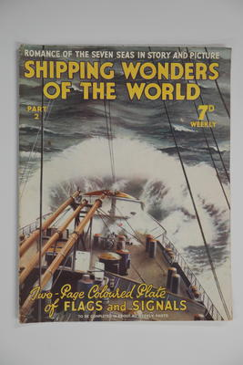 Book: Shipping wonders of the world : over two thousand illustrations including 108 plates in photogravure and 28 in full colours / Clarence Winchester, editor.