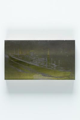 Photographic plate: New Zealand Shipping Company vessel RUAHINE III