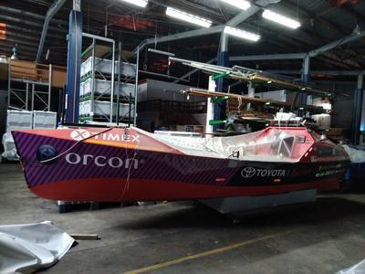 Vessel: Rowboat: TASMAN TRESPASSER II