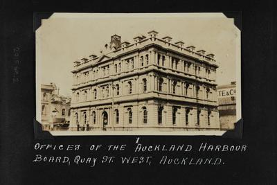 Photograph: Auckland Harbour Board offices