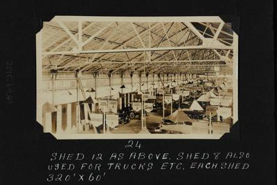 Photograph: Olympia Motor Show, Shed 12, Central Wharf