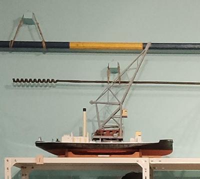 Model: crane steamer RAPAKI (1926)