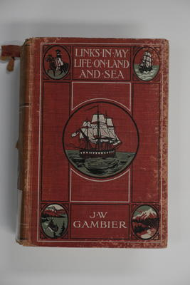 Book: Links in my life on land and sea / by J.W. Gambier