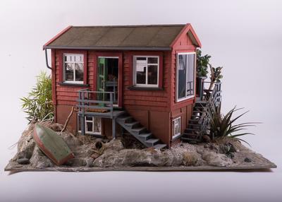 Model: Miniature kiwi bach