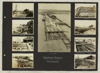 Album page: Page 26a, Photograph Album No. 42 Auckland Harbour Board: Engineers Album