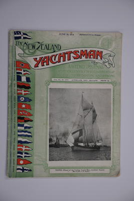 Serial: The New Zealand yachtsman : a weekly journal devoted exclusively to the interests of yachting, motor boating, and rowing.