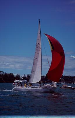 Slide: 1981 Admiral's Cup Trials 5/81