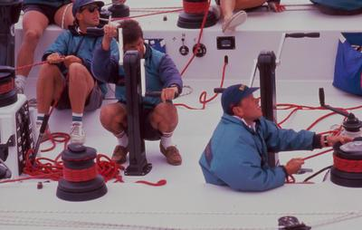 Slide: America's Cup yachts 23/91