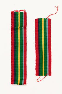 Medal ribbon: for Pacific Star awarded to to George Davis