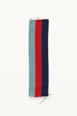 Medal ribbon: for the 1939-1945 Star awarded to to George Davis