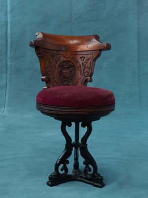 Saloon chair from ferry PS WAKATERE (1896)