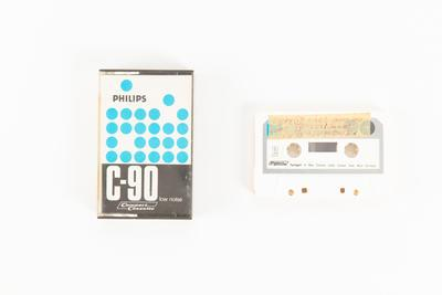 Audio cassette: Copy of Sides 1 and 2 of Tape 17 and  Side 1 of Tape 18. Audio recording made on voyage of TOTORORE, Lagartija, Guafo and Quelllin Islands and Puerto Montt, Chile.