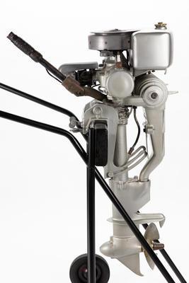 Outboard Motor: Indian Silver Arrow, 10 hp