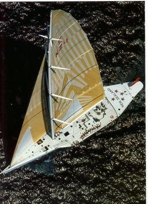 Vessel: NEW ZEALAND, KZ1