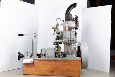 Engine: Skandia engine 5 hp model 31 B