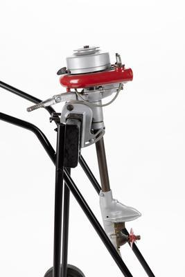 Outboard motor: Johnson MS38, 1.1 hp