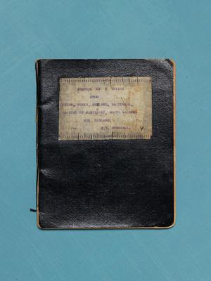 Diary: Journal of a voyage from Leeds, Yorks, England to Timaru, capital of Cantebury [sic.], South Island, New Zealand, per SS CORNWALL