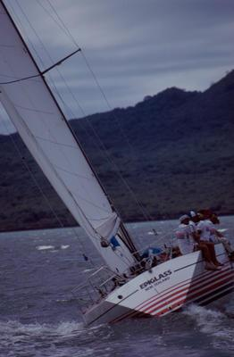 Slide: 1981 Admiral's Cup Trials 1/81