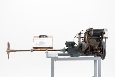 Engine: Stuart Turner P66 marine petrol engine