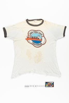 T- shirt: NEW ZEALAND CARIBBEAN (1980)