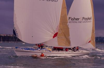 Slide: FISHER & PAYKEL launching  8/88